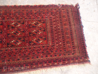 Turkmon Jalor with fine weave all original without any repair or work done.E.mail for more info and pics.
