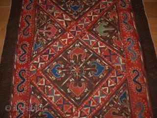 Antique Uzbek embroidered felt, size: 345 x 126cm. D-160.