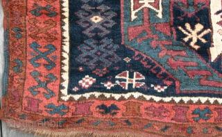 (70) Kagizman Kurd, 130 x 267 cm.,  Eastern Anatolian village rug with a hefty handle and full pile of soft, lanolin-rich wool. It is in excellent condition with some minor repairs.
