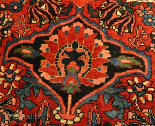 {92} Dehkord Bakhtiari, 412 x 638 cm. This classic, oversize rug from the 1950s., manufactured just south of Isfahan, has spent the past 33 years gracing the salon of a lovely old  ...