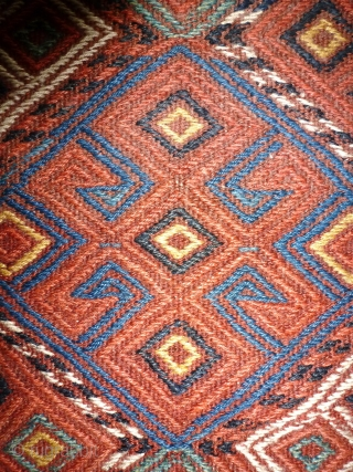 Antique Bag probably east Anatoli, Karakoyunlu tribe,Taurus mountains. 74 x 74.