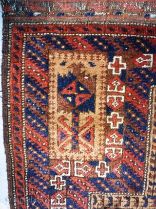 Antique Baluch Prayer  120 x 178 Very good conditions.  Price upon request