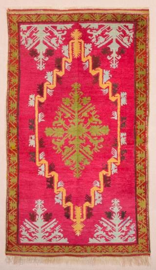 Central Anatolian Kirsehir Rug circa 1870 size 97 x 167 cm
