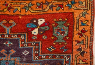 19th Century West Anatolian Kelez Rug in very good condition all original untouched piece size 91 x 117 cm