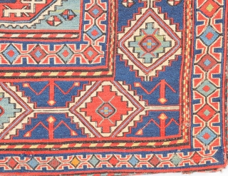 Second Half 19th Century South Caucasian, Azerbaijan Sumac Our attribution of this sumakh bag face is guided by Wertime who published an almost identical example. a further bag of this rare group  ...