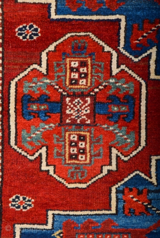 Middle of the 19th Century Persian Nordwest rug It's in very good condition Size 112 x 210 cm