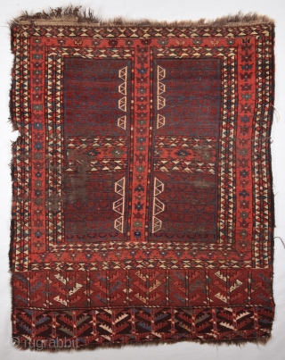 Early 19th Century Unusual Yamud Engsi Size 117x142 cm