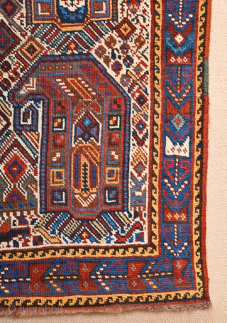 Late 19th Century Khamseh Runner It's in perfect condition all the colors are natural and all original untouched piece.Size 72 x 286 cm