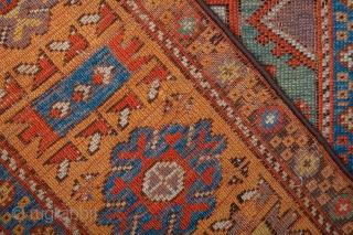 Circa 1800s Central Anatolian probably Konya Prayer Rug size 111 x 153 cm