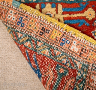 Early 20th Century Persian rare heriz bag ıt's in perfect condition size 48 x 105 cm