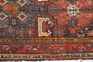Early 19th Century Persian Probably Northwest Rug Size 95 x 315 cm