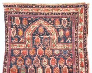 Mid. 19th Century Shirvan Marasali Rug Size 90 x 130 Cm