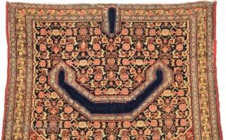 19th Century Lovely Senneh Saddel Bag Cover Size 95 x 100 Cm