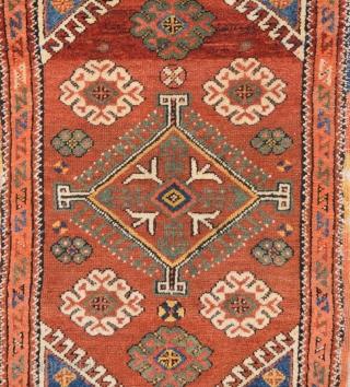 19th Century West Anatolian Probably Dazkırı Area Yastık.It's in Perfect Condition Size 60 x 95 Cm