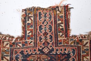 19th Century Persian Luri Salt Bag size 44x48 cm
