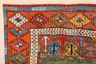 Early 19th Century Central Anatolian Konya Prayer Rug It rare design and has great colors on it.Little missing borders but Rest of them perfect condition high pile on it.Size 113 x 183  ...
