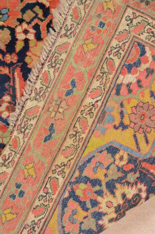 North West Persia, or Azerbaijan Rug circa 1800s generally in good condition with some old small restorations.can see them from images.Size 150 x 325 cm