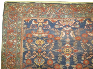 "Mahal Sultanabad Persian circa 1910 antique. Size: 373 x 253 (cm) 12' 3"" x 8' 4""  carpet ID: P-1643