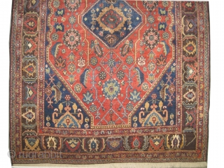 "Qashqai Persian knotted circa in 1910 antique, collector's item, 183 x 127 (cm) 6'  x 4' 2""  carpet ID: K-4369