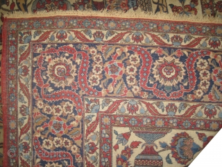 "Isphahan Persian knotted circa in 1918 antique, 320 x 219 (cm) 10' 6"" x 7' 2""  carpet ID: P-5281