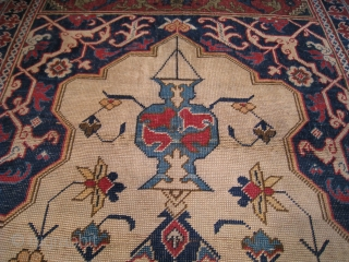"""Transylvanian"" Prayer Rug attributed to Tuduc, Early 20th Century, 7' 2"" x 4' 5"""