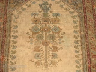"18th Century Koulah Prayer, 6' 8"" x 4' 5"".  Additional photos available on request."