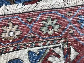 11x15 antique bakshaish serapi Handwoven  No damages no cuts all original  No patches.