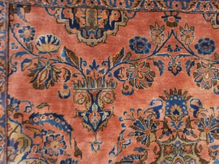422 x 326 cm Palace fine KASHAN ANTIQUE (Manchester wool). In very-very good condition for pile, foundation and colors.  Velvelty wool and beautiful colors for this KASHAN. Other info or pictures about it, on request. ALL  ...
