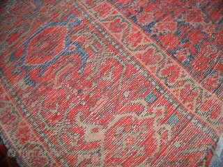 198 x 126  cm Tappeto antico PERSIANO MALAYER Antique PERSIAN MALAYER  Very good condition. NOTES: before the 01.01.2015 was exported from Iran.  GREETING from COMO ! MML