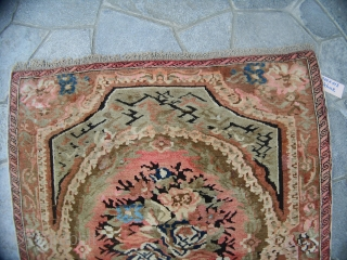 200 x 113  cm is the size of this antique CAUCASUS piece.