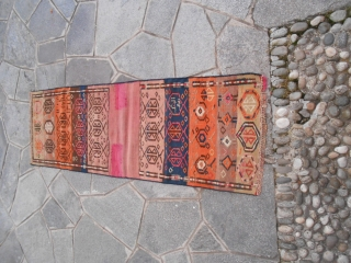163 x 53  cm  khordjin in very good condition. Dated 1335 Egira = 1921/1920. GOOD  LOOK ! AND WARM REGARDS from lake of COMO !