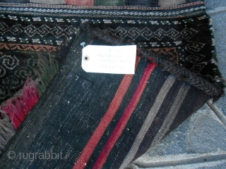 Rare complete Baluch-khorjin Mushwani tribe, pile khorjin antique. Overalla excellent condition with full pile.