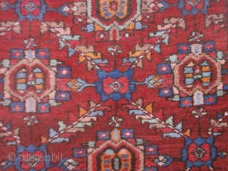 Persian runner knotted in the village of ARDEBIL.