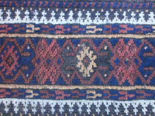 Antique fine BALOUCH carpet.