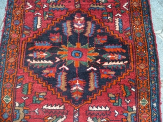 KORDI runner in very good condition. All wool and natural dyes for this amazing long rug.  I think this carpet is a KERMANSHAD kurdi. Don't hesitate to contact me for your idea about this antique original  ...