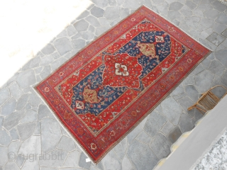 351 x 222 cm ANTIQUE malayer original design. In good condition.
