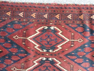 145x85 cm Turkmen Afghan antique Arabachi-tribe. 