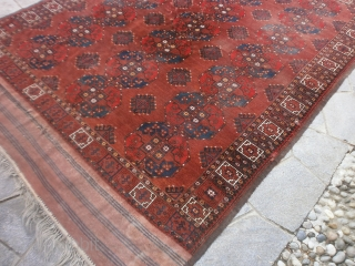 Antique ERSARI-Emirati of Boukhara main carpet.