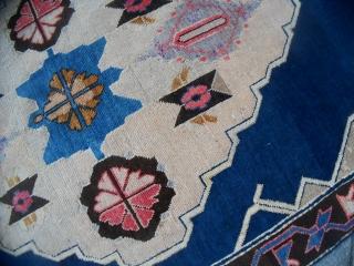 Measure:   cm. 220 x 110 cm Antique AVAR carpet caucasus. Good condition.  More info or photos on request. REGARDS  from COMO !  Thanks !  SOLD IN GB.