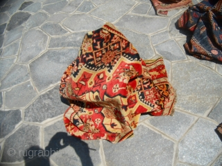 Size is cm. 189 x 127 cm Antique piece knotted in CAUCASUS region of KARABAGH. In perfect condition. Very beautiful colors. Washed and read to use!  Other photos or info on request. All the best   ...