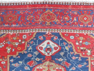 Size   cm. 322 x 221 cm. Piece in good condition, full pile. Antique MALAYER-FARAHAN with a very beautiful design. Important size for this FERAGHAN fine and antique. All original. More info and photo on  ...