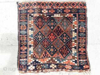 0005   Kurdish Jaf bag face with nice naturel colours...60x60 cm