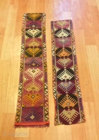 Uzbek lakai vintage textile unique embroidered textiles  Size : 69 cm x 15 cm 77 cm x 16 cm  Fast shipping all over the world,!