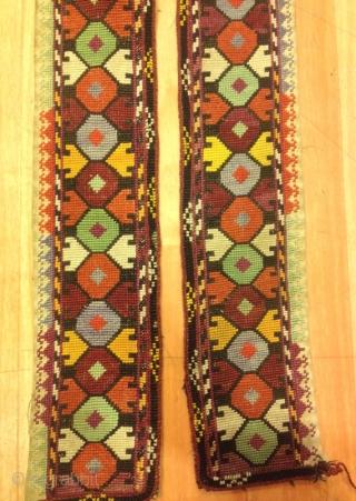 Uzbek lakai embroidery belt vintage unique ornaments textile  Size : 130 cm x 8 cm  Fast shipping all over the world,
