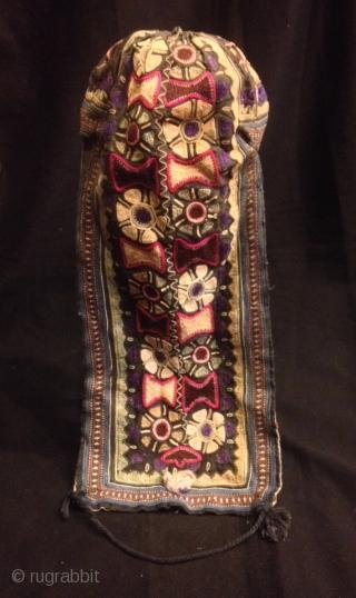 Tadjik vintage handmade hat skull duppi hat  Size:  Height : 45 cm  Fast shipping all over the world,!