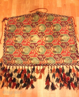 Vintage Turkmen trapping ornaments Textiles 