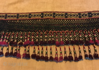 Uzbek silk tassel ethnic and tribal collectible accessories tassel