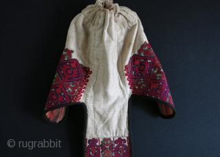 Kyrgyz long tailed ceremonial hat.
