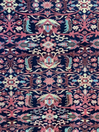 Super Fine Mishan Malayer Persian rug - 19th century - 4'9 x 6'6 - 144 x 198 cm.
