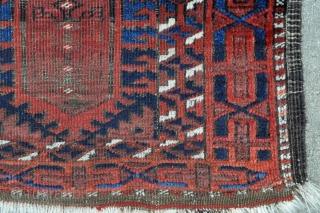 Antique Timuri Baluch rug - late 19th century - 2'11 x 4'5 - 89 x 135 cm.